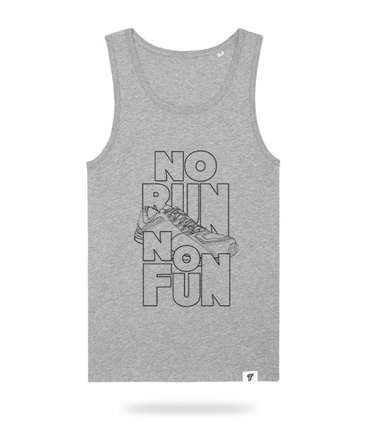No Run No Fun Tank Top Jungs