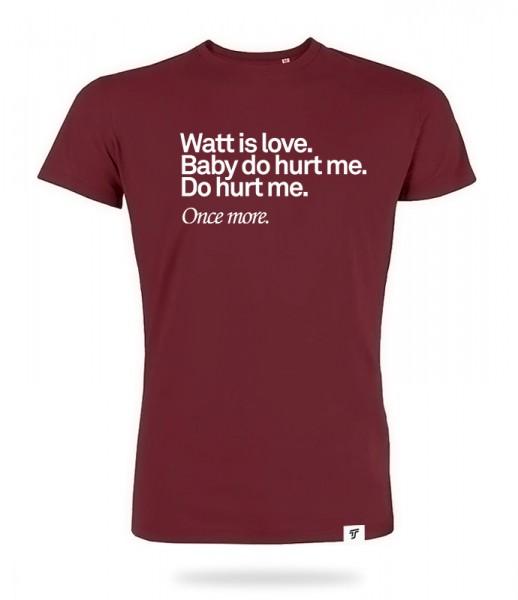 Watt is Love Shirt Jungs