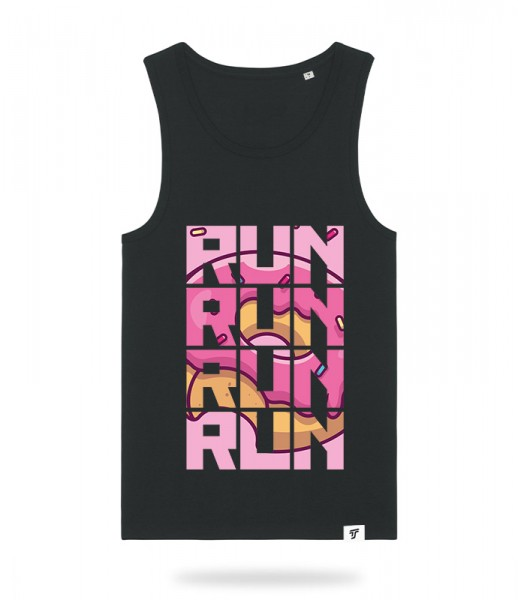 Run for Donuts Tank Top Jungs