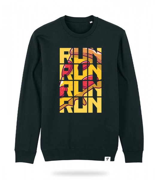 Run for Pizza Sweater