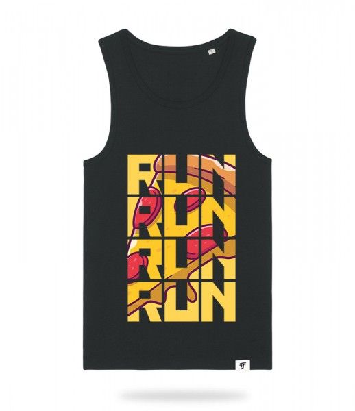 Run for Pizza Tank Top Jungs
