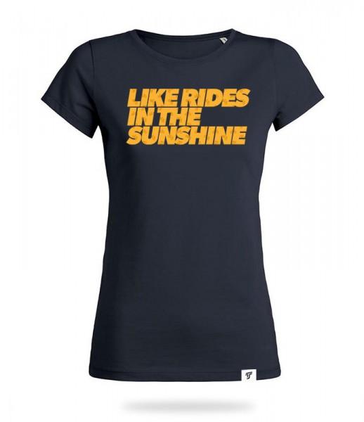 Sunshine Rides Shirt Mädels
