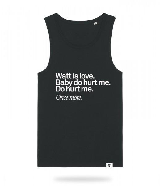Watt is Love Tank Top Jungs