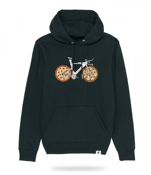 (R) Pizza Bike Hoodie
