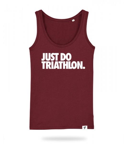 Just Do Triathlon Tank Top Mädels