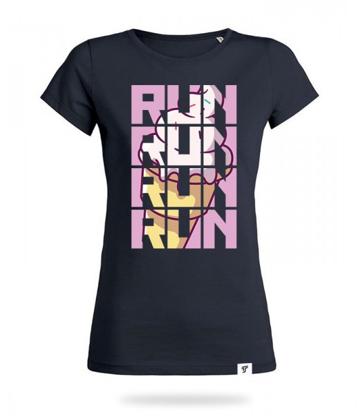 Run for Ice Cream Shirt Mädels