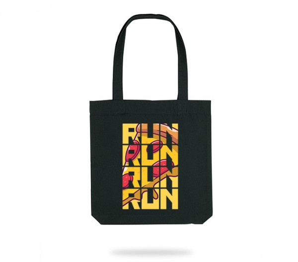 Run for Pizza Tote Bag
