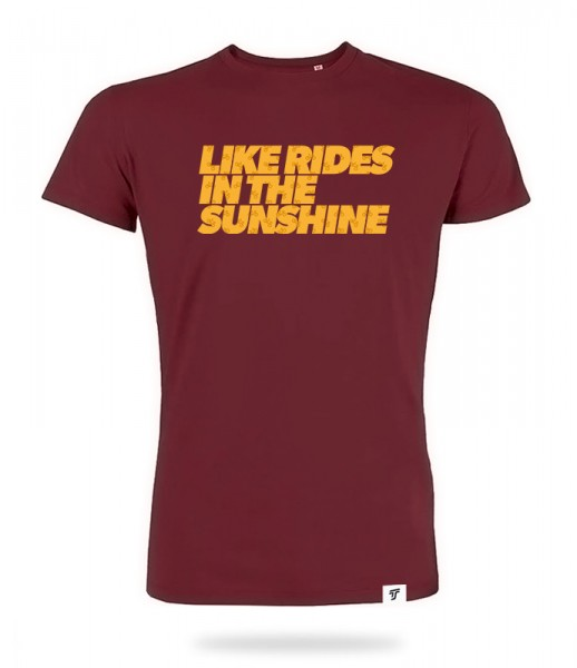Sunshine Rides Shirt Jungs
