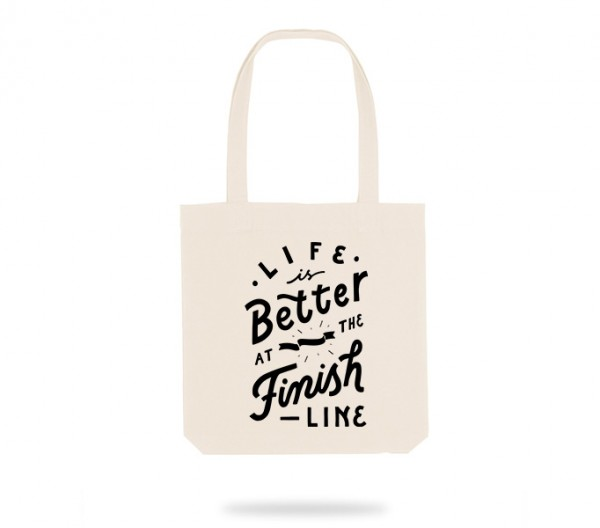 Finish Line Tote Bag