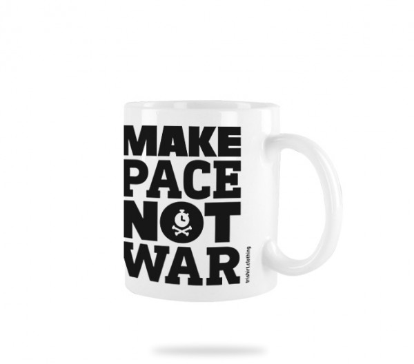 Pace Not War Tasse