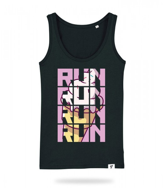 Run for Ice Cream Tank Top Mädels