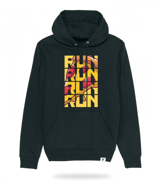 Run for Pizza Hoodie