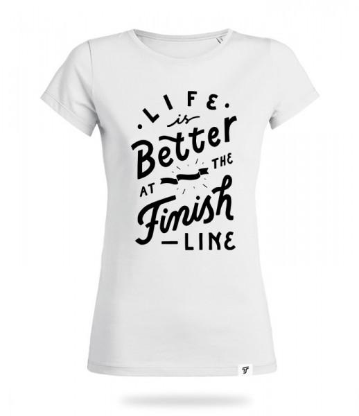 Finish Line Shirt Mädels
