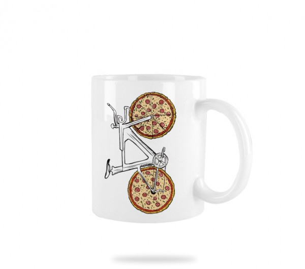 Pizza Bike Tasse