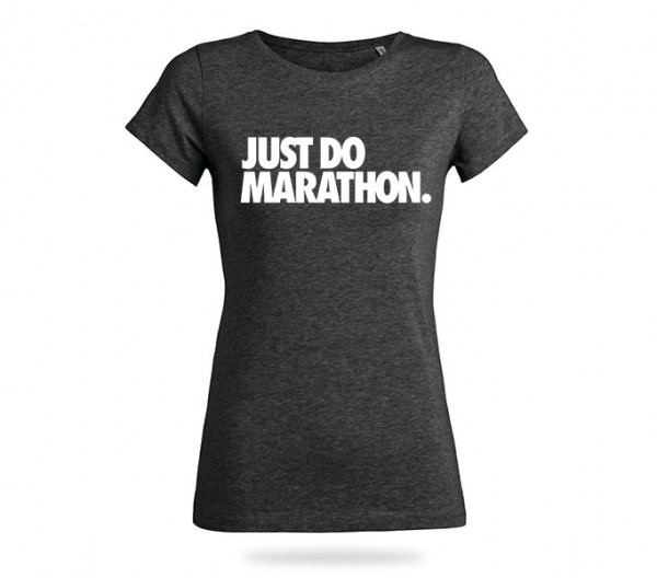 Just Do Marathon Shirt Mädels