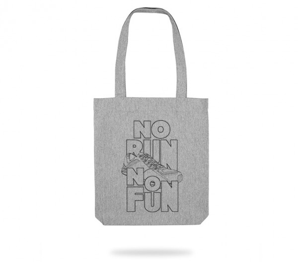 No Run No Fun Tote Bag