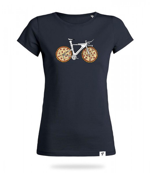 Pizza Bike Shirt Mädels