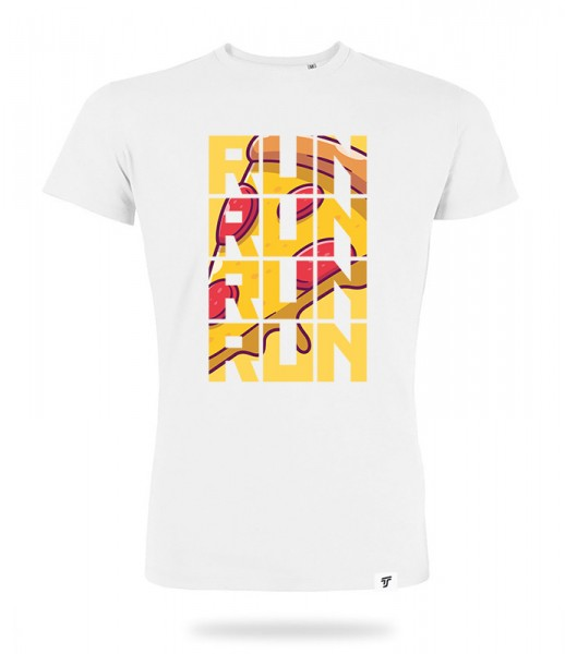 Run for Pizza Shirt Jungs
