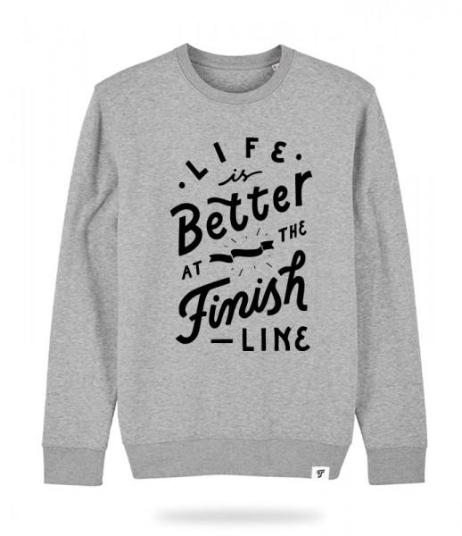 Finish Line Sweater