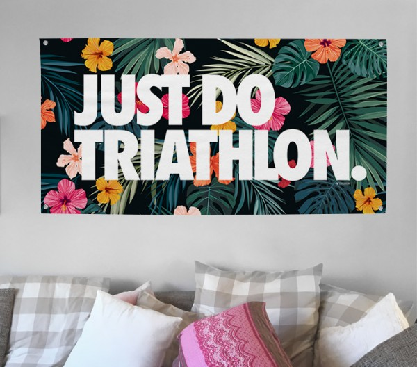 Triathlon Tapestry