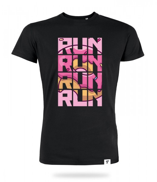 Run for Donuts Shirt Jungs