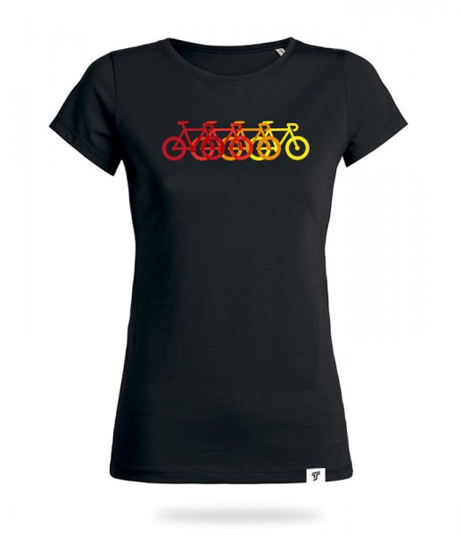 Rainbow Ride Shirt Mädels
