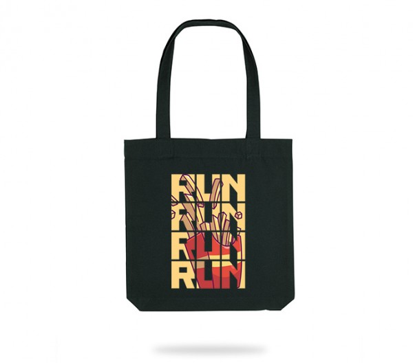 Run for Fries Tote Bag