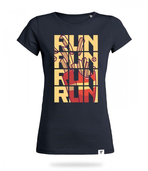 Run for Fries Shirt Mädels