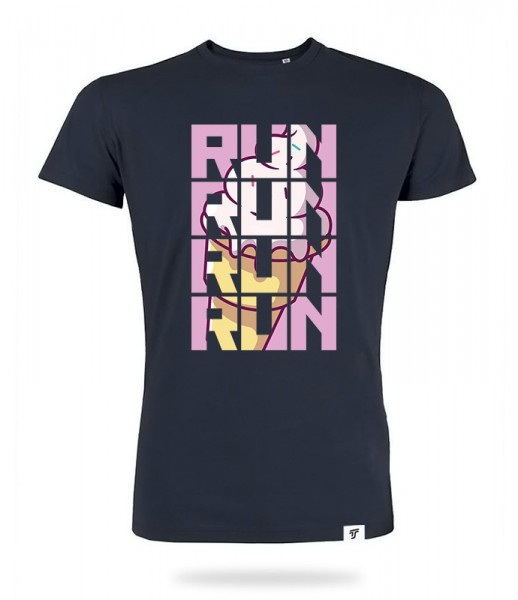 Run for Ice Cream Shirt Jungs