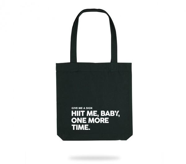 Hiit me Tote Bag
