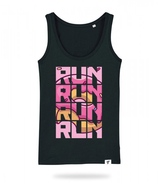 Run for Donuts Tank Top Mädels