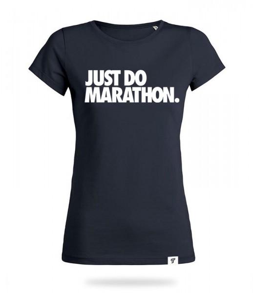 Just Do Marathon Shirt Mädels